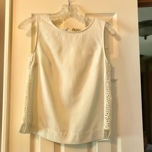 Anthropologie Embroidered Top   Size 2